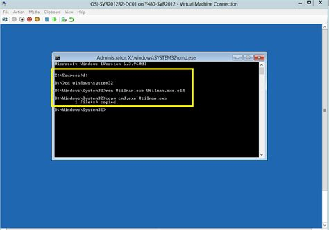 windows reset password command line simple step reset administrator password in windows