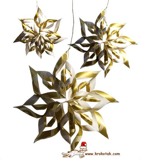 Decorations For Your Home krokotak a paper christmas star