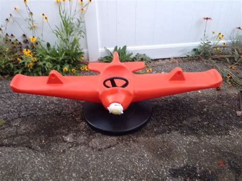 little tikes airplane swing little tikes airplane teeter totter vintage ebay