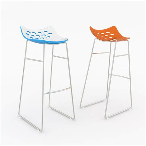 jam bar stool 3d calligaris jam bar stool