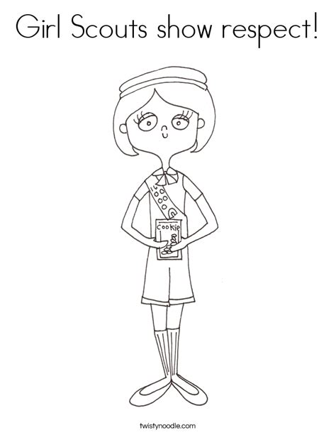 coloring page for respect girl scouts respect authority hot girls wallpaper