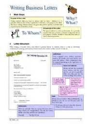 Business Letter Vocabulary Quiz English Teaching Worksheets Business Writing