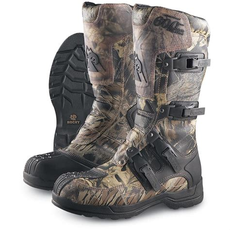 atv boots for s rocky 174 600 gram thinsulate ultra insulation