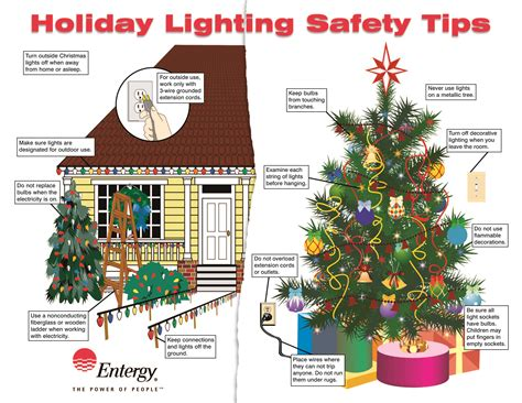 safe christmas lights entergy news room beware the griswold effect be safe save energy with lighting