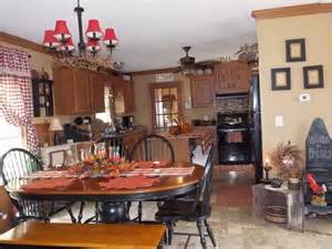 Home Country Decor Manufactured Home Decorating Ideas Primitive Country Style Black Chairs Primitive Kitchen