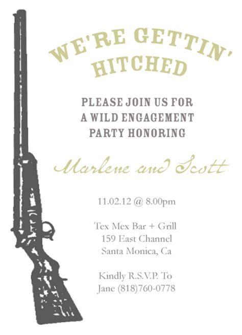 shotgun wedding invitations invitations shotgun wedding engagement at minted
