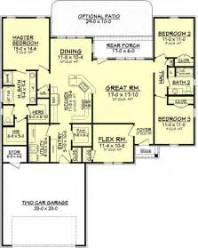 2500 sq ft floor plans 2500 square foot traditional home floor plans pinterest