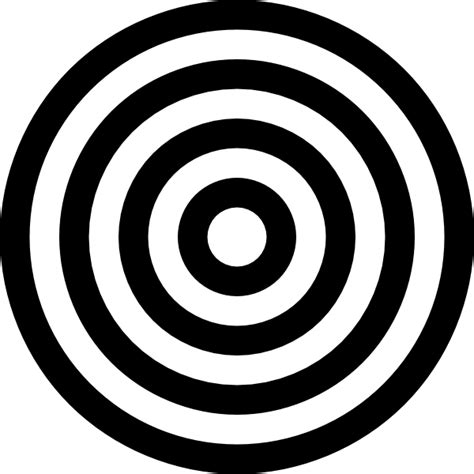 printable black and white targets black and white target clip art at clker com vector clip