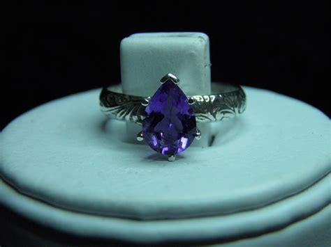 Sale Pedro Original Sz 44 45 sale 1 57ct solitaire amethyst purple sterling silver ring