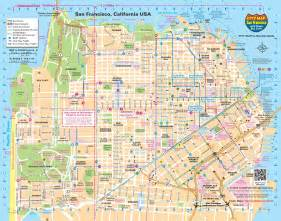 San Francisco On Map by San Francisco Transport Map