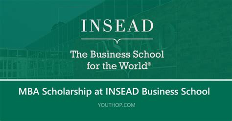 Insead Business School Mba Requirements by Insead Business School Scholarships 2018 For Students Of