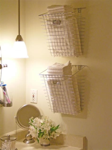 Unique Bathroom Storage Let S Get Organized Pinterest Unique Bathroom Storage