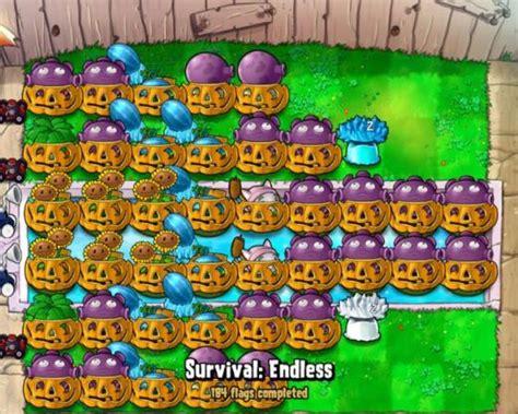tutorial plant vs zombie survival endless plants vs zombies survival endless 200 flags and beyond
