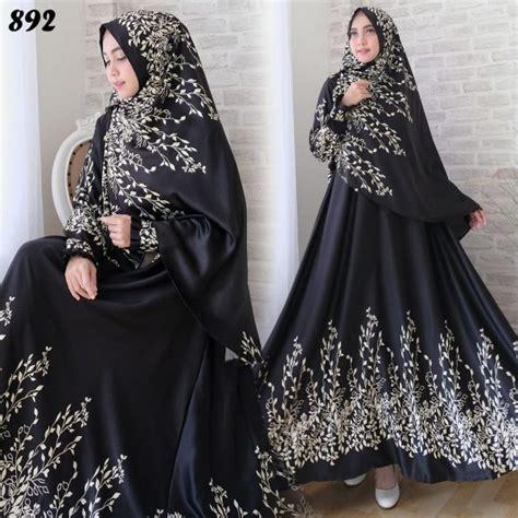 Maxi Maxmara Batik Bunga 5 Warna gamis syari maxmara bunga c892 baju muslim cantik