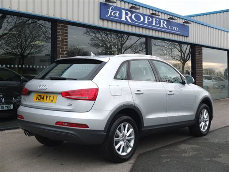 audi q3 se second audi q3 2 0 tdi 177 quattro se s tronic for