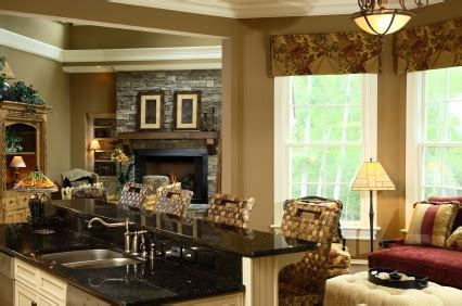 Kitchen Family Room Combo by The Kitchen And Family Room Combo Is Increasingly Popular With New Homebuyers