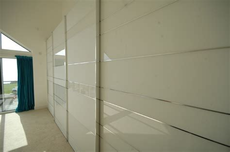 Italian Wardrobe Design by Stylish Sliding Door Wardrobe In New Build