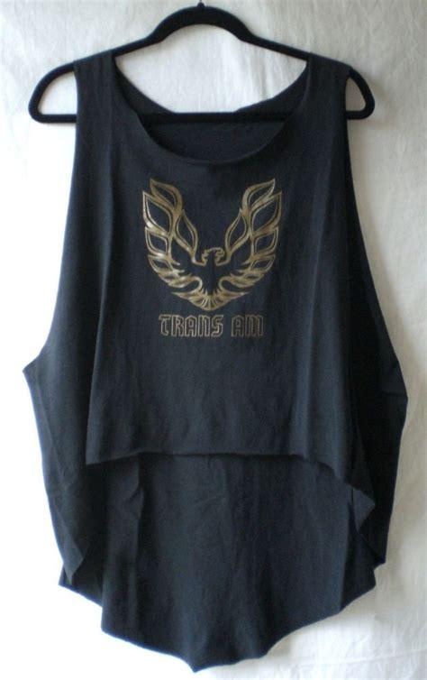 Tshirt Vintage Firebird firebird trans am t shirt high low oversize tunic diy