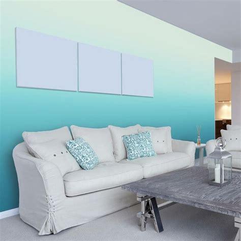 wohnzimmer paint ideas ombre wohnzimmer wohnideen maritim einrichten blaue wand