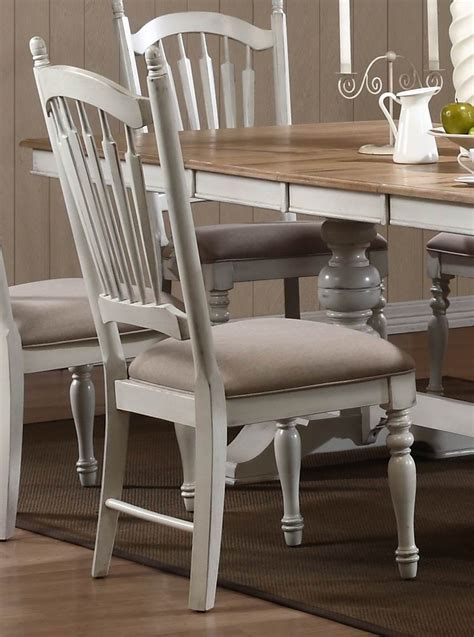 Distressed Dining Room Chairs Hollyhock Distressed White Dining Room Set From Homelegance 5123 96 Coleman Furniture