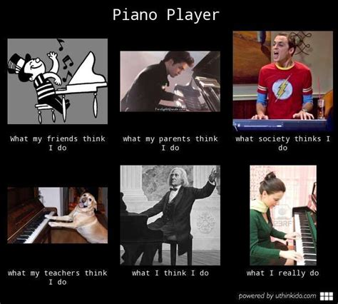 Piano Meme - piano player what people think i do what i really do