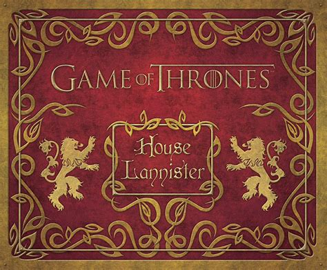 Of Thrones House Lannister of thrones house lannister deluxe stationery set