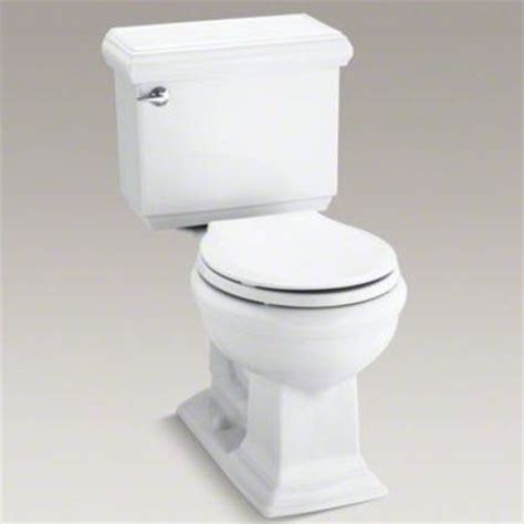 comfort height round toilet kohler k 3986 memoirs 1 28 gpf two piece round front