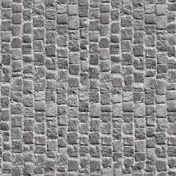 Brown Round Rugs Damaged Street Paving Cobblestone Texture Seamless 07457