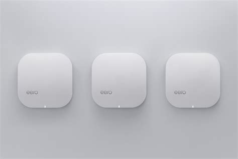 The wireless router reinvented: Eero brings mesh
