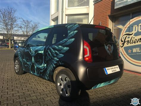 Design Folie Vw Up by Vollfolierung Vw Up Dgs Wrapping Foliendesign