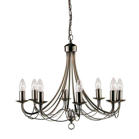 searchlight electric maypole 6348 8ab antique brass