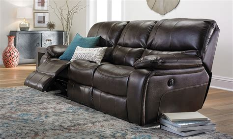 barrington leather power reclining sofa power recliner sofa henry power recliner sofa power