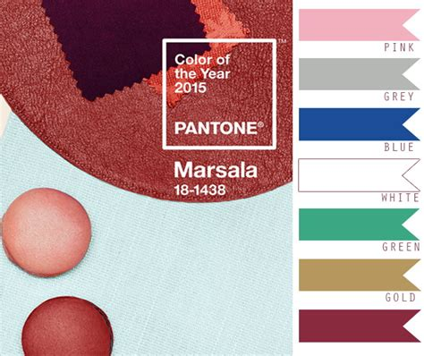 color of 2015 pantone marsala wedding color combo ideas color of the