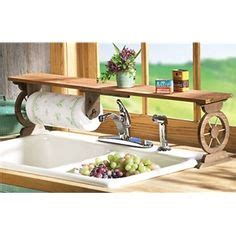 the sink shelf with paper towel holder i bought this vintage paper towel holder