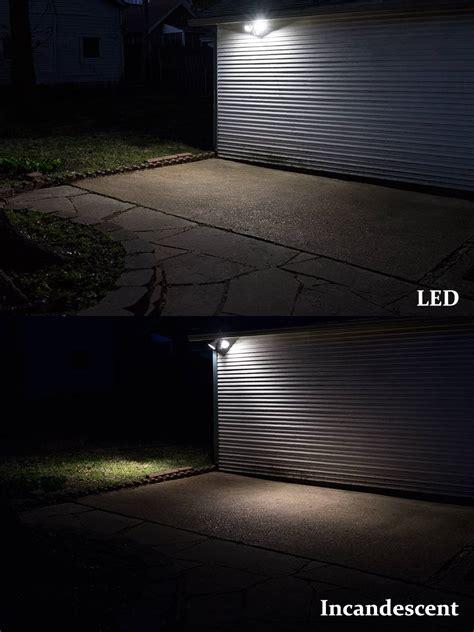 security led lights car led motion sensor light 2 head security light 20w