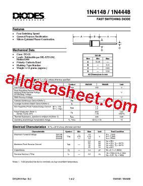 datasheetpdf diodes incorporated