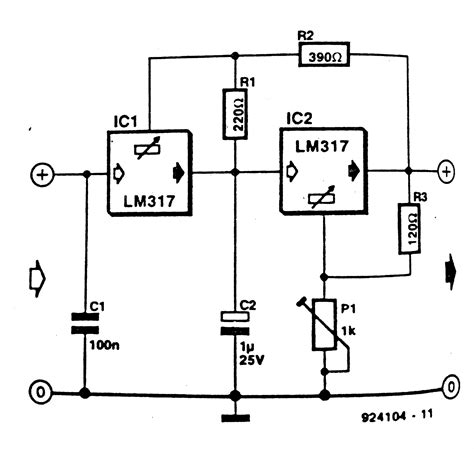circuit diagram voltage regulator wiring diagram schemes