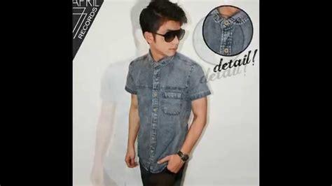 Kemeja Try koleksi kemeja lengan pendek pria branded import model terbaru toko baju keren