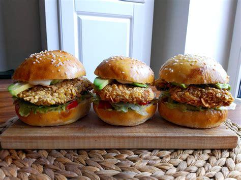 Chicken Burger Endura 600g fried chicken burgers zrzka v kuchyni