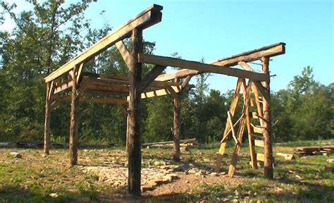 building   fashioned pole barn green thumb