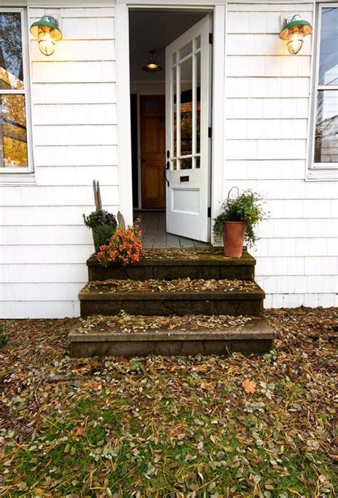 front door steps home decor that i