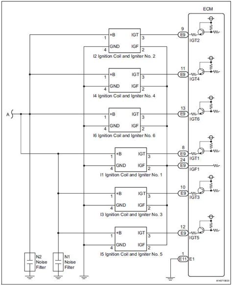 toyota ignition coil wiring diagram 4age distributor to