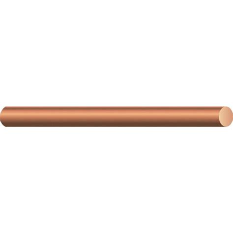 southwire by the foot 8 solid bare copper wire 10632890