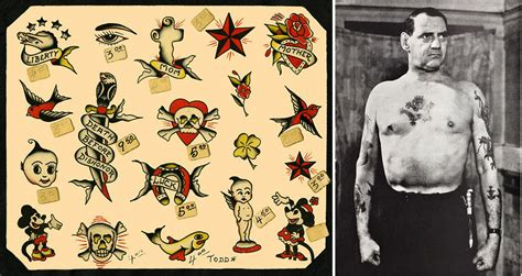 hello sailor the nautical roots of popular tattoos from