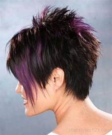 spikey hair front and back short spiky hairstyles page 2