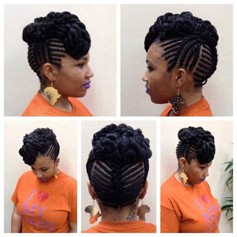 hairstyles without braids natural braided undo great protective style you can go