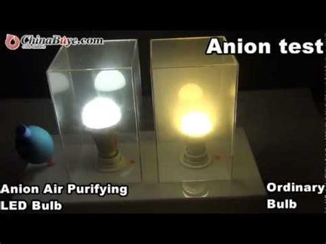 e27 90 260v 7w white light 6000 6500k anion air purifying
