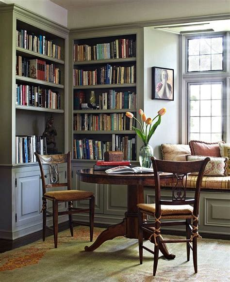 Creating A Small Home Library 15 Small Home Libraries That Make A Big Impact