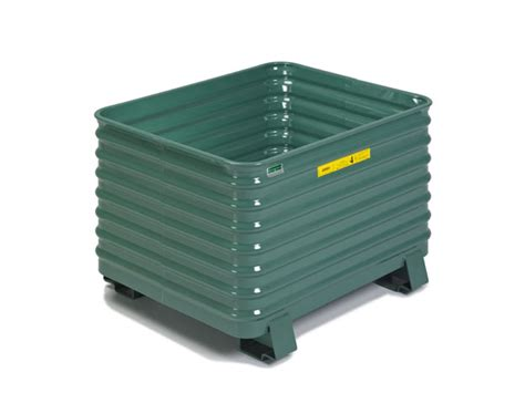 industrial storage container corner corrugated industrial containers from steel king