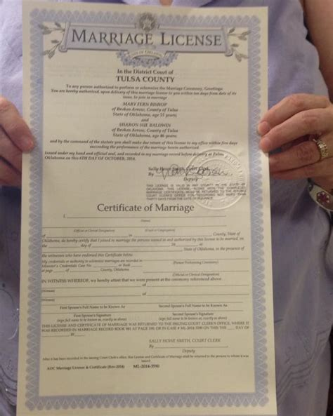 Oklahoma Marriage License Records Same Marriage Now Marriage Licenses Issued News Ok